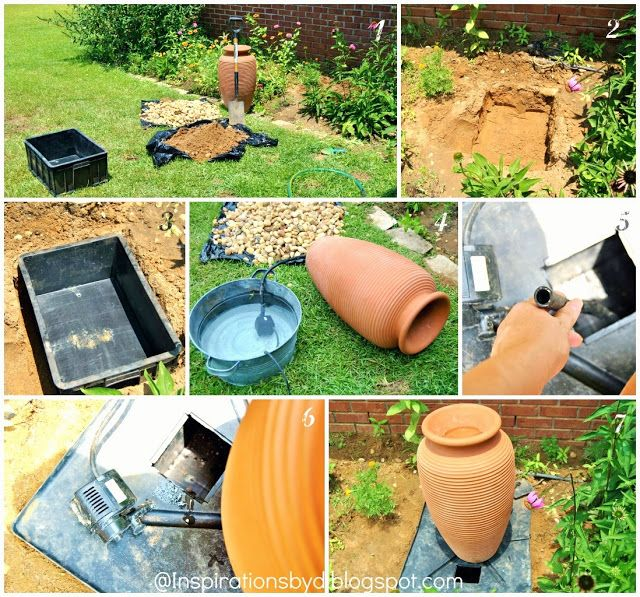 31 Best Images About DIY Fountain Ideas On Pinterest Garden