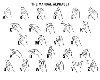 If youve always wanted to learn how to sign, heres your