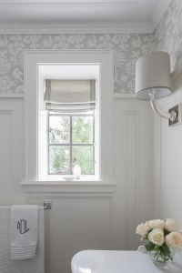 25+ best ideas about Bathroom Window Treatments on