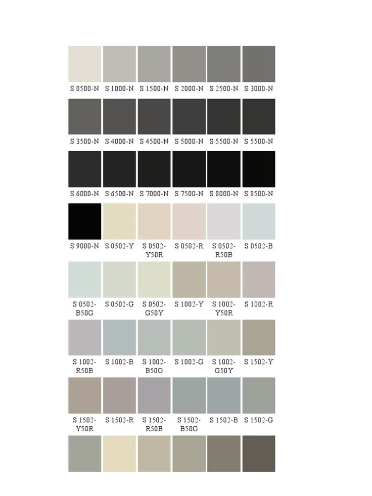 NCS colours  colors and their systems  Pinterest  Colour