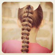 pull- braid easy hairstyles