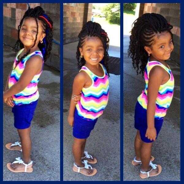 Thetruemetalmaniac Black Little Girl Hairstyles On Pinterest