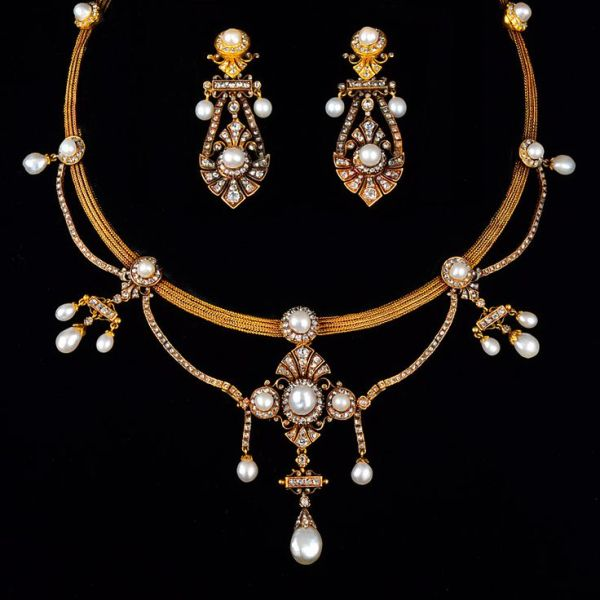 162 best images about Victorian Jewelry Sets on Pinterest