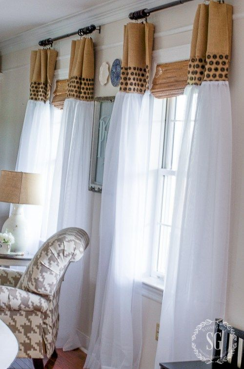 Best 10 Cheap Window Treatments Ideas On Pinterest Old Benches Hanging Curtains And Window