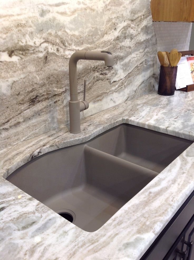 pull out kitchen cabinets small high top table moscavo granite with blanco composite sink by chippewa ...