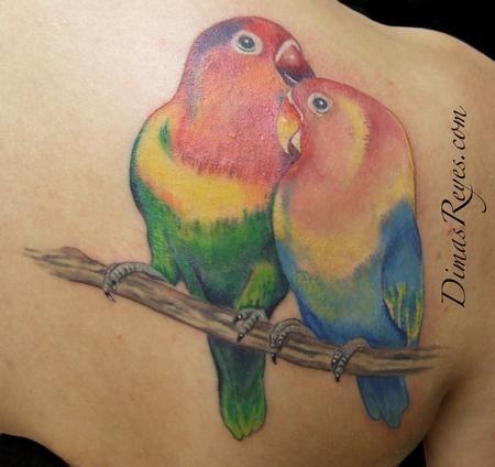 ideas lovebird tattoo