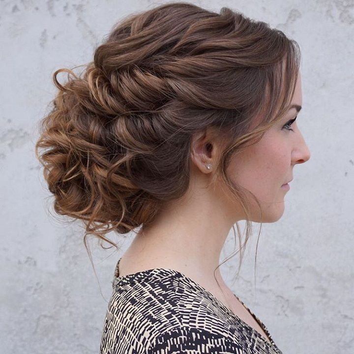 25 Best Ideas about Loose Updo on Pinterest  Messy updo