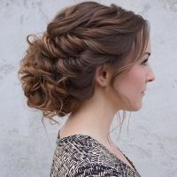 25+ Best Ideas about Loose Updo on Pinterest | Messy updo ...