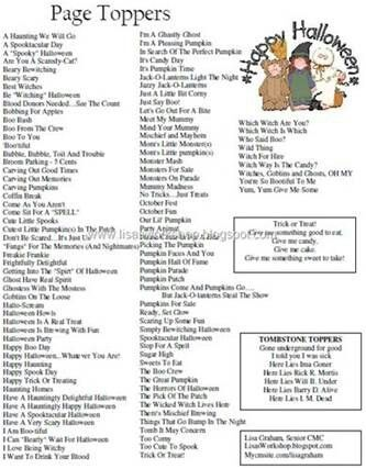 17 Best images about Scrapbooking Titles, Journaling