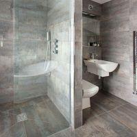 Looking Good Bath Mat | Grey tile bathrooms, Grey and Grey ...