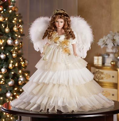 96 Best Images About ANGEL DOLLS On Pinterest Christmas