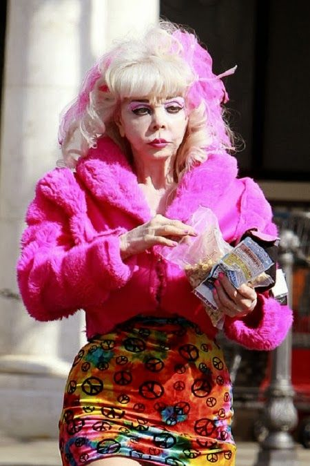 Angelyne Is An American Singer Actress And Model She Is