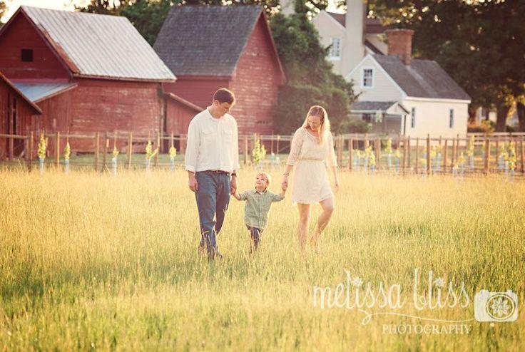 family photo shoot farm