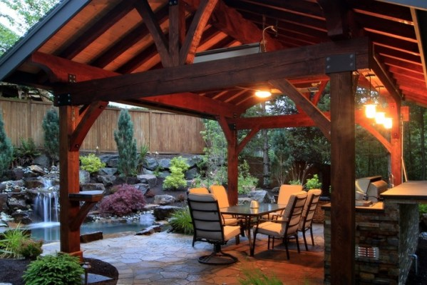 outdoor kitchen covered patio 1000+ images about Patio Cover Outdoor Kitchen on Pinterest | Backyard retreat, Arbors and