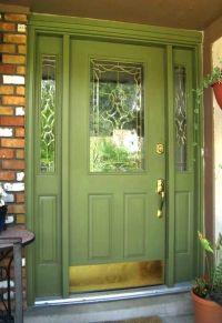 Best 20+ Green front doors ideas on Pinterest