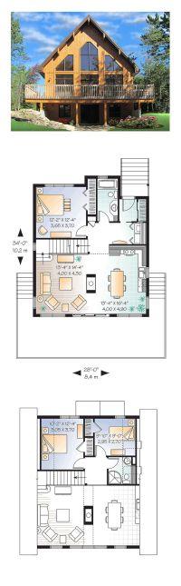 25+ best ideas about A Frame House Plans on Pinterest | A ...