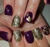 1000+ ideas about Fall Nail Art on Pinterest | Xmas nails ...