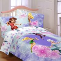Disney's Tinkerbell & Fairies Full Comforter & Sheet Set