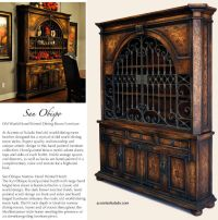 Old World Tuscan Furniture for the old world dining room ...