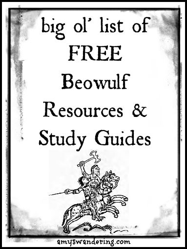 17 Best images about Beowulf Lesson Plans and Activities