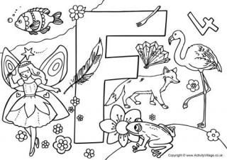 Colouring pages, I spy and Alphabet on Pinterest