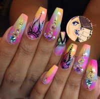 25+ best ideas about Exotic Nail Designs on Pinterest ...