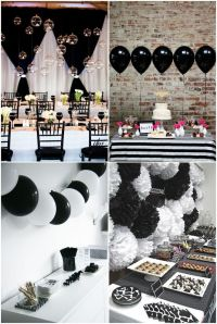 25+ best ideas about Black White Parties on Pinterest