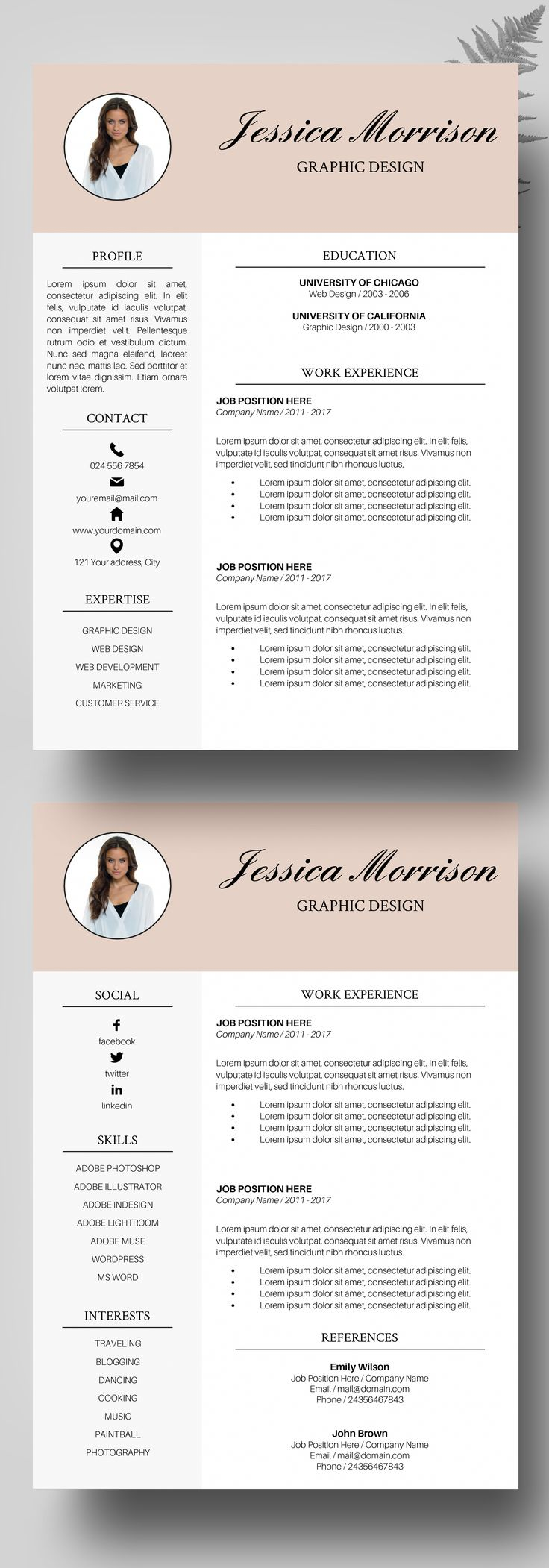25 best ideas about Cv template student on Pinterest  Employment cover letter Resume and Job