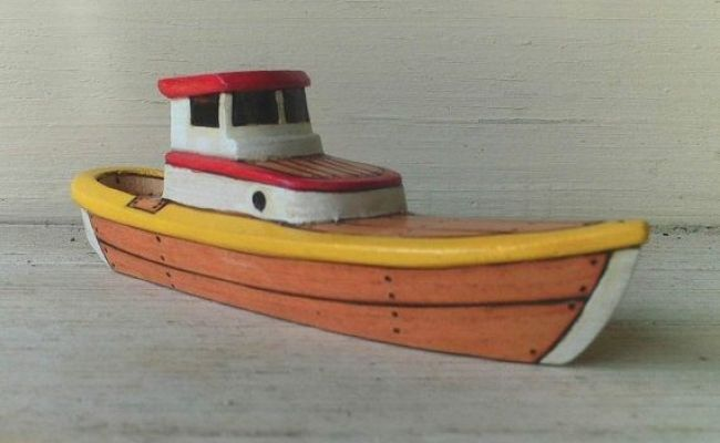 Free Wooden Toy Boat Patterns Woodworking Projects Plans