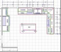15X15 Kitchen Layout with Island | Brilliant Kitchen Floor ...