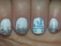Disney Castle Nail Art....going to Disney in less than two ...