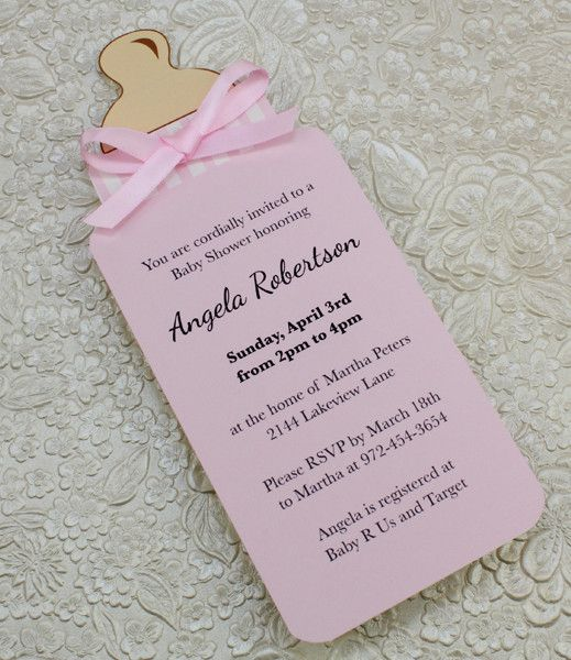 25+ best ideas about Baby Shower Invitations on Pinterest