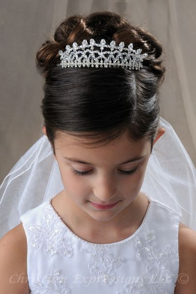 19 Best Images About Updo First Communion On Pinterest Hair