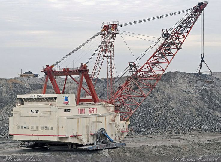 Bucyrus Erie 2570WS Dragline Big Kate Mining Equipment