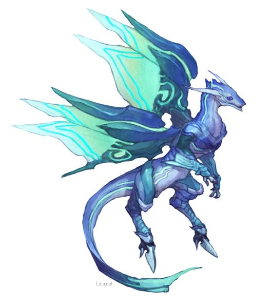 Turquoise dragon specifically know for their great talent