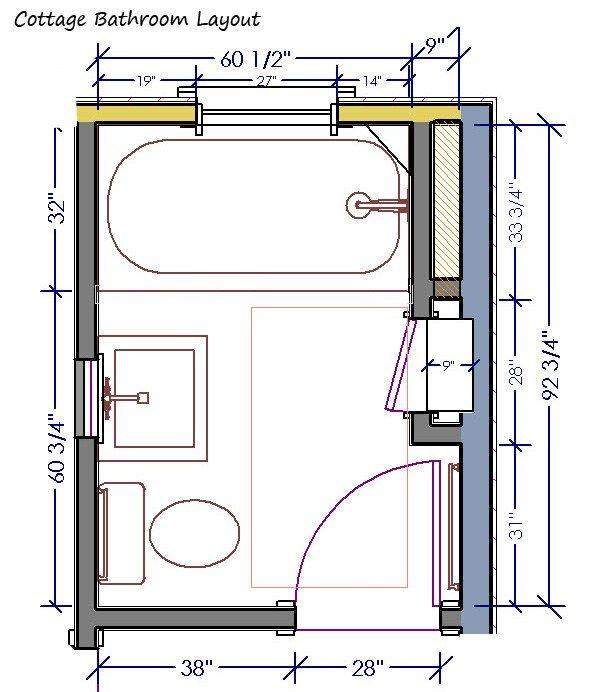 contemporary bathroom 5 x 7 | 5,892 5