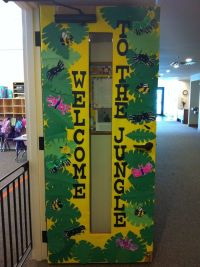 Animal Door Decorations & Classroom Door Display: Rumble ...