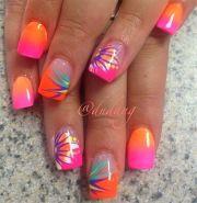 summer nail art design 2015
