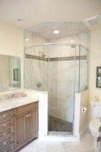 Neo-angle shower | Lagenwalter Master Bath | Pinterest ...