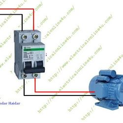 The plete guide of single phase motor wiring with