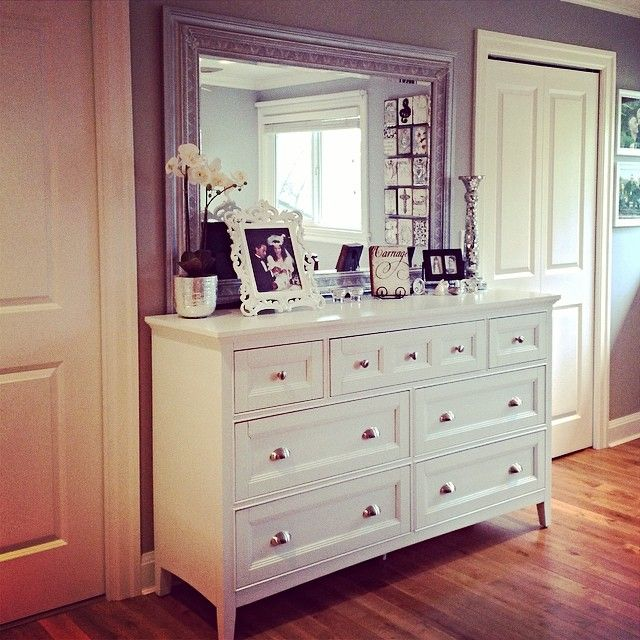 Dresser with mismatched mirror  For the Home  Pinterest