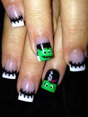 nice acrylic nail design