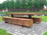 Picnic table for public spaces - PURE II - Grijsen park ...