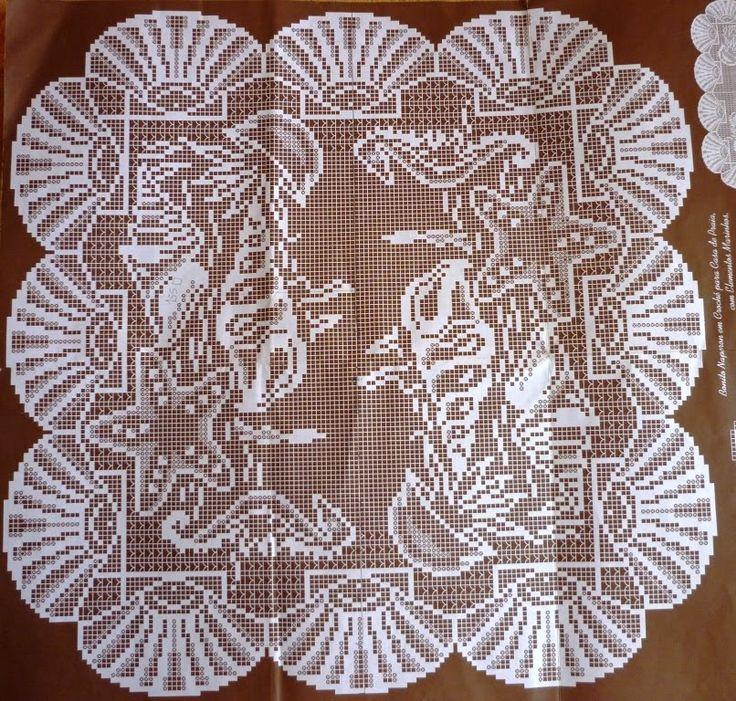 185 Best Images About Crochet Filet Animais On Pinterest Fair