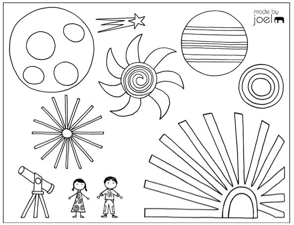 Great free printable coloring sheet for kids by Joel