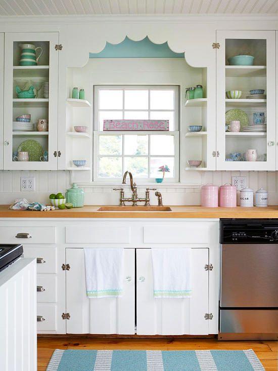 25 best ideas about Vintage kitchen cabinets on Pinterest
