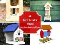 6 Bird Feeder Plans | Outdoor Plans | Pinterest | Bird ...