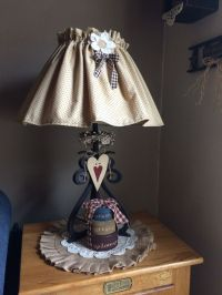 198 best images about Lamps, country & primitive on ...
