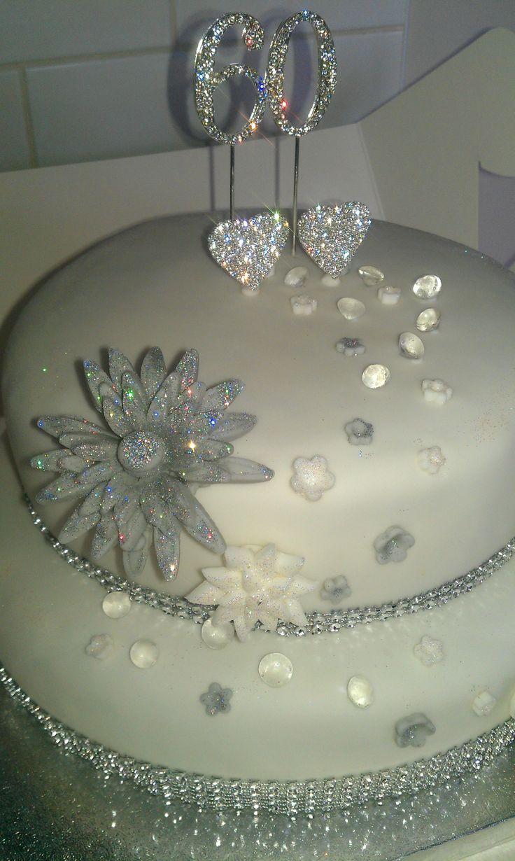 60th Wedding Anniversary Cake Miscellaneous Pinterest