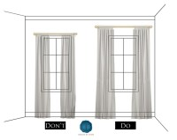 Hanging Curtains From Ceiling To Floor | Curtain ...